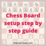 Chess Board setup step by step guide