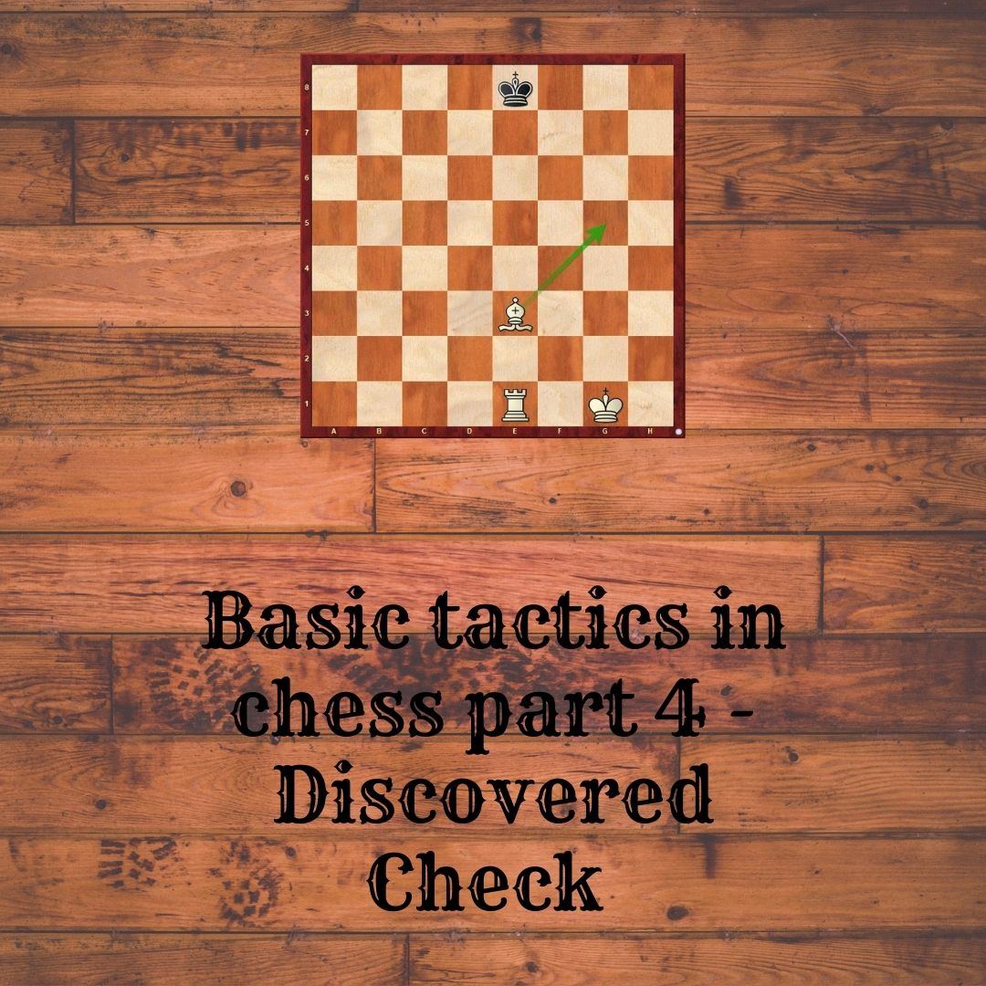 Basic tactics in chess part 4- Discovered Check