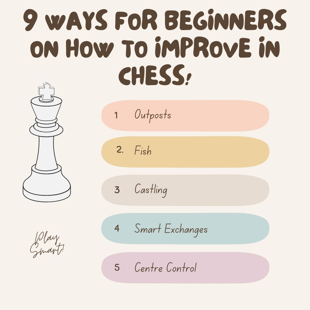 9 ways for beginners on how to improve in chess!